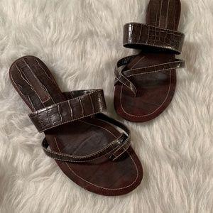 Bandolino Brown Sandals